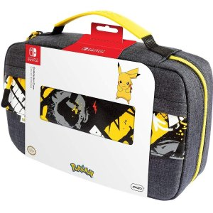 PDP Nintendo Switch Pokemon Pikachu Commuter Case Compatible with Switch and Switch Lite