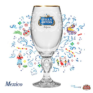 As Low As $4.69Stella Artois Better World 2019 and 2018 Limited Edition Mexico Chalice