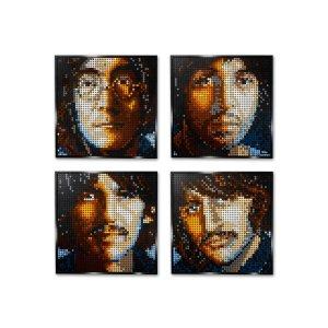 Lego四种效果甲壳虫乐队 31198 | 艺术生活系列