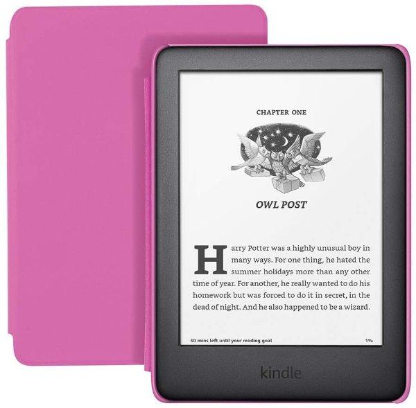 儿童版阅读器,粉色封面