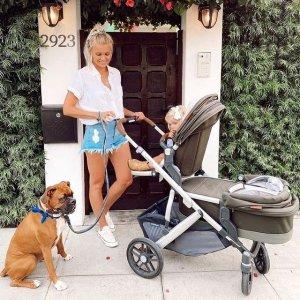 立减$240 3件套装$1080UPPABABY 儿童安全座椅推车 好莱坞明星选择的童车