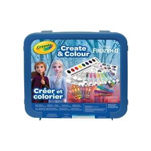 Crayola冰雪奇缘2绘画套装