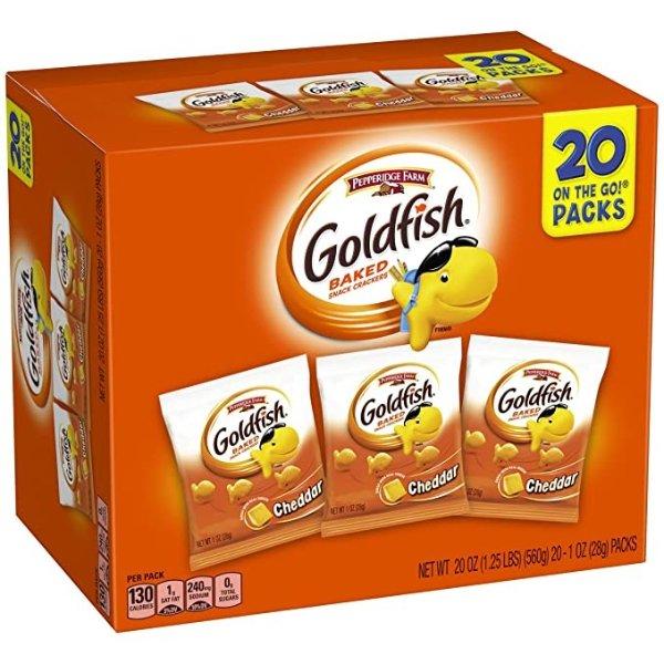 Goldfish 小金鱼芝士饼干 20包