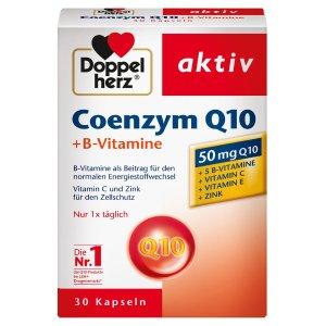 仅售€5.57Doppelherz 双心 辅酶Q10+B族维生素胶囊 30片