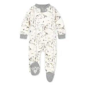Burt's Bees Baby有机棉连体服