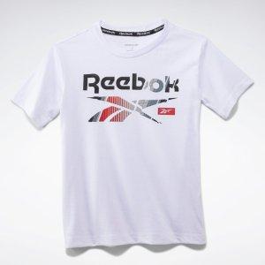 Reebok小童LOGO T恤