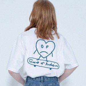 GRAVER爱心T恤