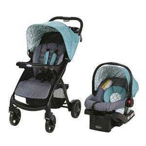 $108.55(原价$179.99)史低价:Graco Verb Click Connect 童车+汽车安全座椅组合