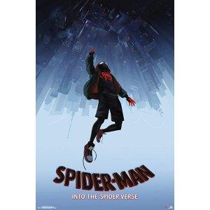 Trends InternationalMan: Spider-Verse-Falling Clip Bundle Wall Poster 22.375