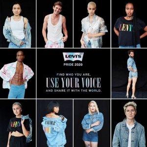 $30收彩虹Tee新品上市:Levi's 官网 Pride彩虹系列上架 穿出最耀眼的色彩