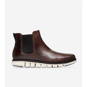 Cole HaanMen's ZEROGRAND Chelsea Boot in Chestnut Leather | Cole Haan