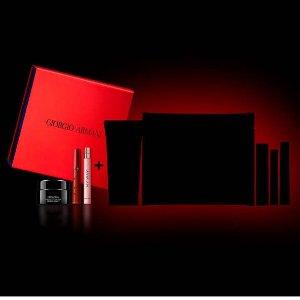 $195(价值$449)+送正装红管上新:Armani Beauty 美妆神秘盲盒 含8个明星正装