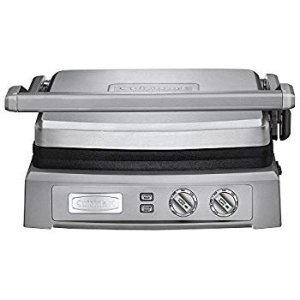 Amazon.com: Cuisinart 5-in-1 Griddler, GR-4N, Silver/Black Dials: Electric Contact Grills: Home & Kitchen