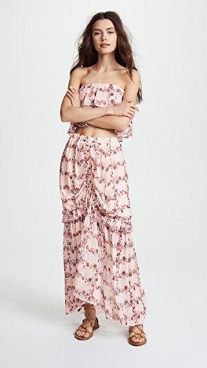 endless rose Fence of Roses Ruffled Skirt | SHOPBOP