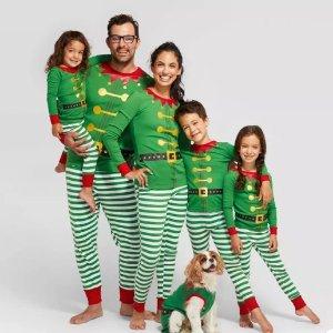 $6.99起Target 多款儿童圣诞风格温馨家居服套装