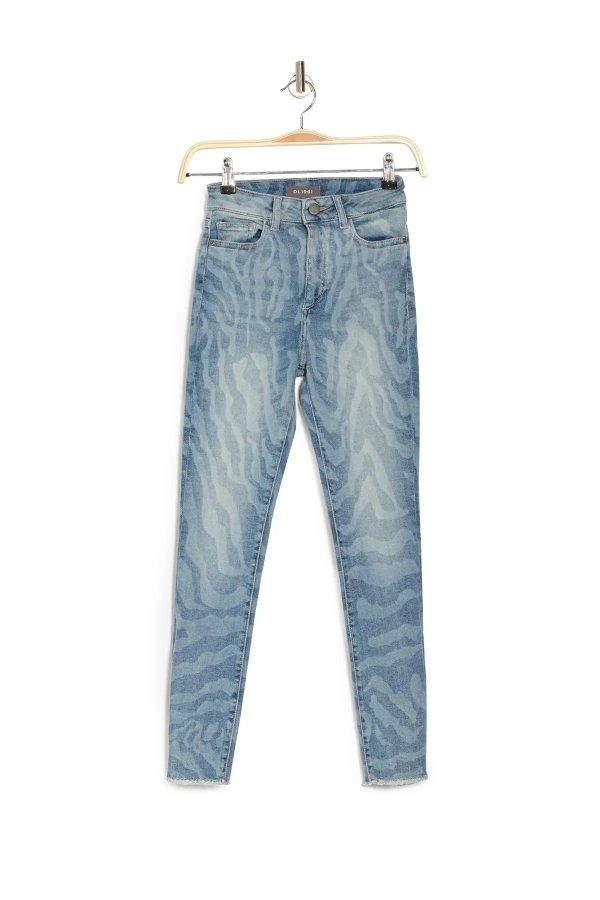 Farrow 高腰牛仔裤