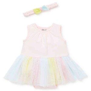 Little Me女婴连衣裙