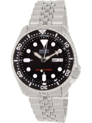 Seiko Men's SKX007K2 Stainless Steel Watch, 42mm by Seiko