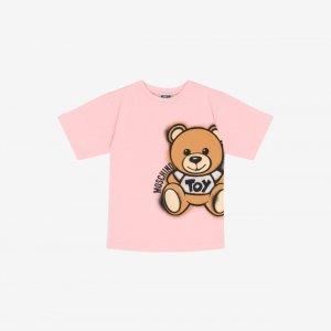 MoschinoMaxi T-shirt Spray Teddy Bear - Girl - Kids (4-8 years old) - Kids - Moschino | Moschino Official Online Shop