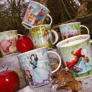 €25.5小红帽 €28收三只小熊Dunoon 唯美童话系列 英国最棒骨瓷杯 白雪公主、灰姑娘、三只小猪