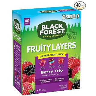 $7.69Black Forest Medley Juicy Center Fruit Snacks, Mixed Fruit Flavors, 0.8 Ounce Bag, 40 Count