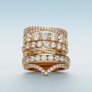 低至7折Blue Nile 精选时尚珠宝促销 收钻石首饰
