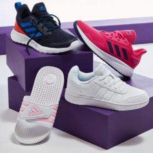 adidas 童装童鞋促销 百余种款式可选