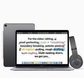 $1569收带Bar MBP+免费Studio3耳机苹果官网暑季学生优惠上线 买电脑 平板享学生价+免费Beats