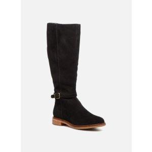 ClarksClarkdale Clad 麂皮长靴