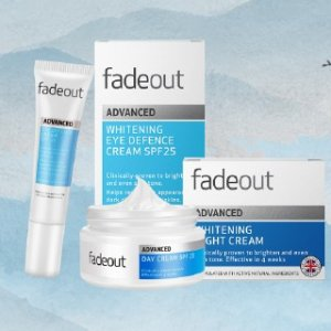 限时7.6折 €8收二合一防护眼霜Fadeout 菲奥 英国小众护肤 独家美白配方 用出匀净嫩白肌肤