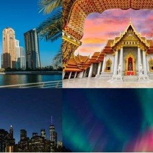帮选择困难症决定去哪玩儿神秘假期 人均£99起环游世界