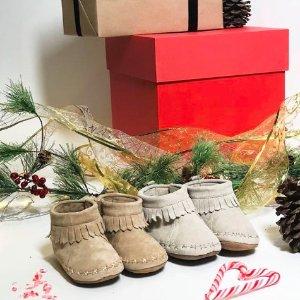 8折Robeez 婴儿学步鞋及袜子节日促销
