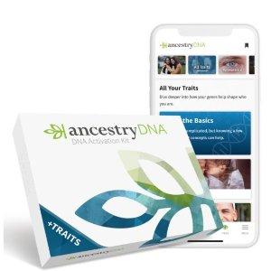 AncestryDNA 祖源分析+性格特征 测试套件