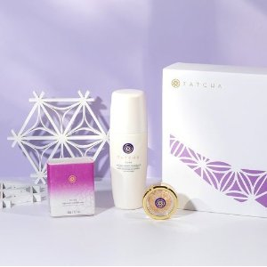 Last Day: Get 3 complimentary Kyoto, Plum, and Cherry mini lipsticks ($60 value)with $100+ purchase of Limited Edition valued sets @ Tatcha