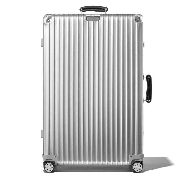 Classic Check-In L Aluminum Suitcase | Silver | RIMOWA