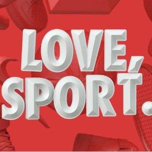 和你的ta一起收美衣美鞋Nike官网 情人节大促 满3件原价商品即享8折优惠