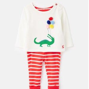 Joules婴儿有机棉套装