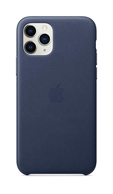 IPhone 11 pro 官方皮革保护壳 蓝色