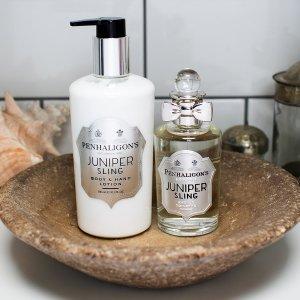 琴酒、橙花身体乳£21Penhaligon's 潘海利根大促 买100ml香水 半价收身体乳!