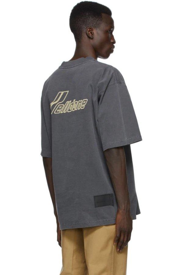 珍珠Logo T恤
