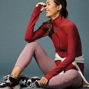 4.6折起 $69收瑜伽裤上新:Lululemon 女士运动裤 款式齐全 让运动融入生活