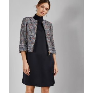 Ted BakerYULIETE Cropped boucle jacket