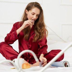 四季被8.5折独家:LILYSILK 睡衣寝具专场 收获高品质睡眠  睡衣套装$89