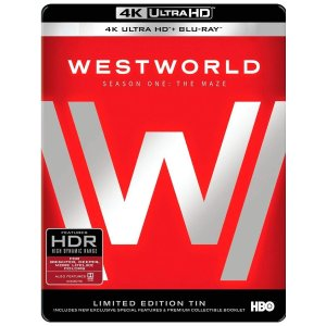 $18Westworld: The Complete First Season [4K UHD Blu-ray]