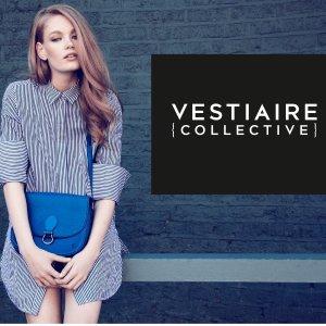 新注册用户满 £200减 £20 包括 Chanel LV HermesVestiaire Collective 全场二手大牌包包饰品美衣热卖