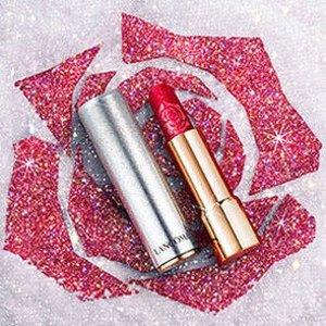 无门槛7折 菁纯口红€23收Lancome 2020圣诞限量热卖 高光、口红颜色绝美