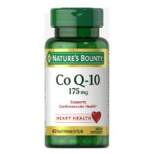 $3.19 超低价Nature's Bounty 辅酶 Q10 175 mg 60粒