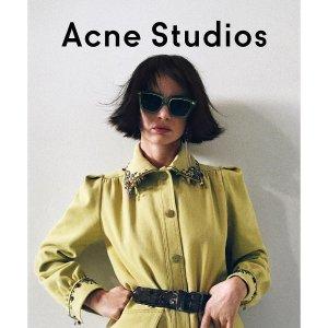 5折起 樱花粉长袖仅£90Acne Studios官网 超全秋冬美衣大促专区 收毛衣、卫衣、T恤等