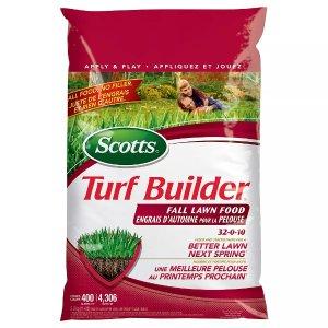 Scotts秋天草坪肥料 32-0-12