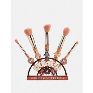 CoachX Sephora Collection Tea Rose Brush Set